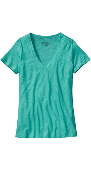 Patagonia W's Necessity V-Neck Shirt Howling Turquoise